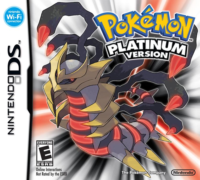 Pokémon Platine Pokemonplatineamerique